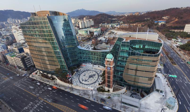 Resultado de imagem para templos presbiterianos na Coréia do Sul